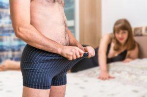 erection involontaire